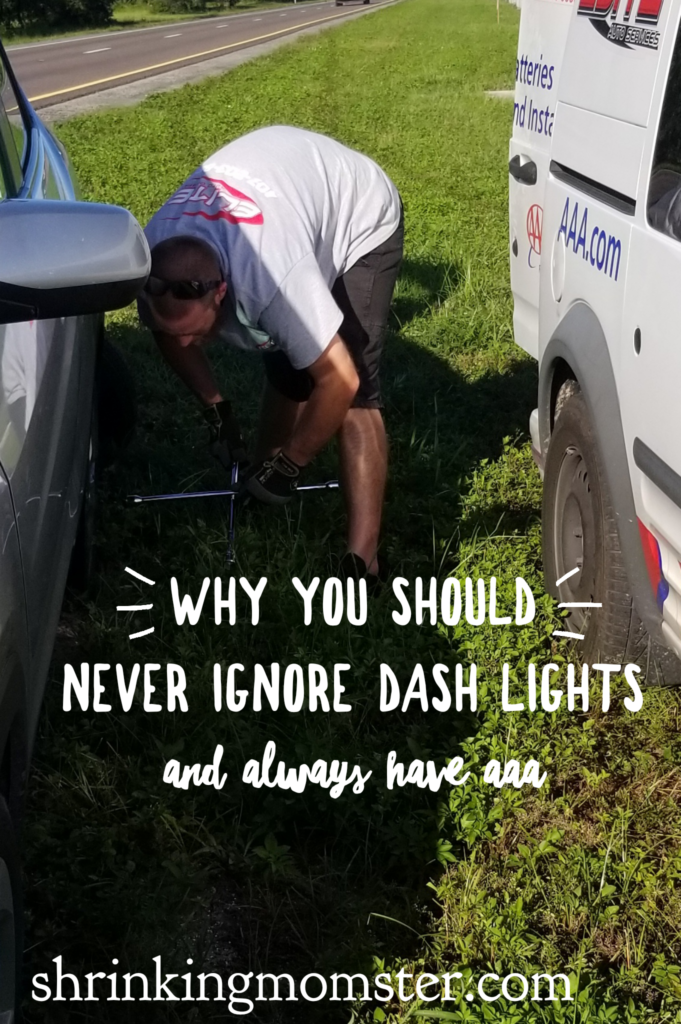 AAA to the rescue! Don't ignore those dash lights!